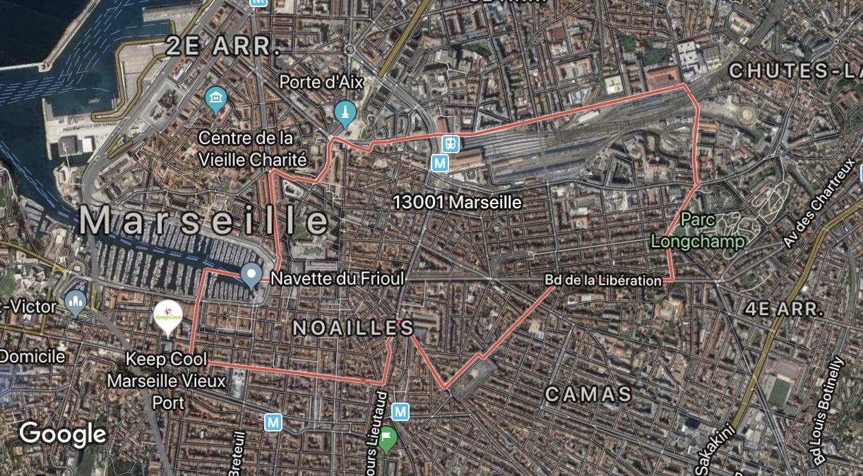 Dónde vivir en Marsella